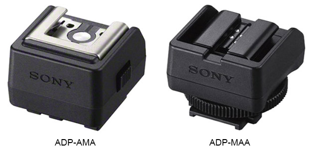 Adaptateurs Sony ADP